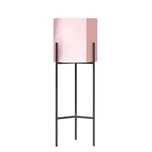 Blumenregal Aus Eisenkunst Blumenständer Mode Pflanzenregal Mit FüR Drinnen Und DraußEn, Rosa/Weiß,pink