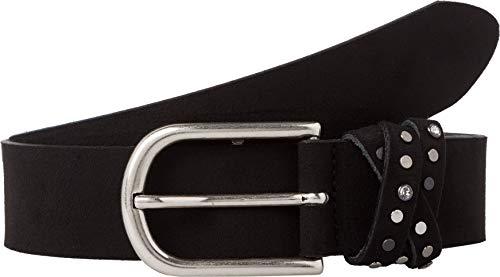 BRAX Damen Style Veloursledergürtel Gürtel, BLACK, 6611 (Herstellergröße: 75)