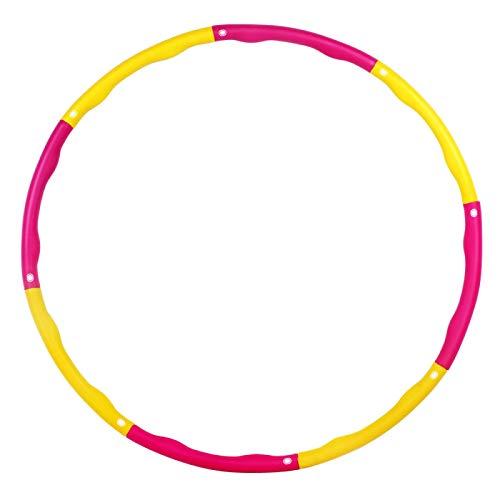 ZHAO Hula Hoop, Hula Hoop De Fitness para Adultos Y Ni Os para Bajar De Peso, 6-8 Hula Hoop Desmontable Fitness/Entrenamiento/Entrenamiento De Contorno Abdominal, 1.1 Kg