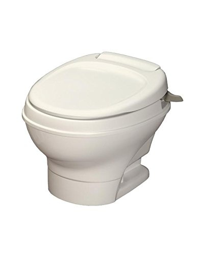 Thetford Aqua-Magic V RV Toilet Hand Flush/Low Profile/Parchment 31647