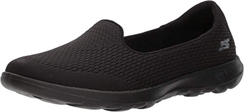 Skechers Women Go Walk Lite Trainers, Black (Black), 6 UK (39 EU)