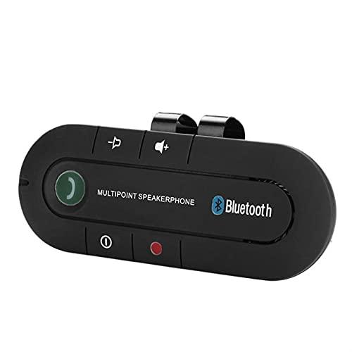 altavoces bluetooth Kit de manos manos libres Bluetooth Teléfono inalámbrico Bluetooth Teléfono Bluetooth Receptor con dual USB Cargador de coche del divisor del adaptador Amplificación de sonido