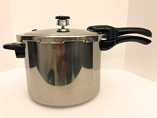Presto 01362 6-Quart Stainless Steel Pressure Cooker(6 quarts (5.7 liters))