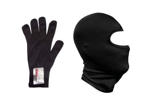 Pasamontañas térmico y guantes con interior térmico