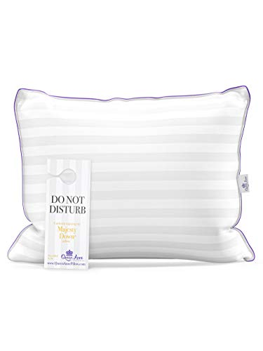 Standard Size Pillow for Sleeping, Allergy Free Bed Pillows...