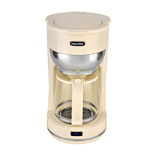 Kalorik 10 Cup Retro Coffee Maker (Cream)