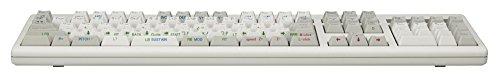 『東プレ REALFORCE108UH-ANLG 108日本語配列カナあり 静電容量無接点方式 アナログ特殊機能搭載 USBキーボード ALL45g ホワイト AFAX01』の2枚目の画像