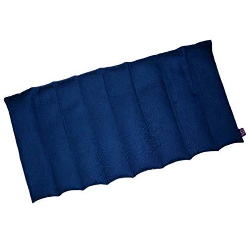 Wellgo Allrounder Körnerkissen mit 8 Kammern (blau)