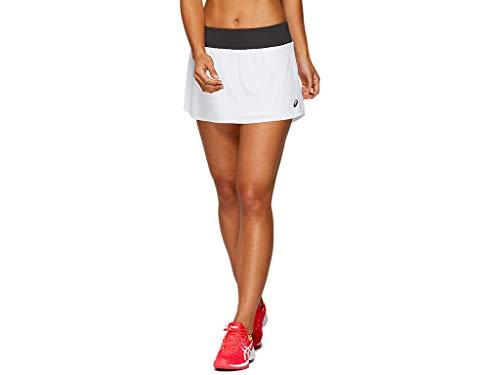 ASICS - Falda de entrenamiento para mujer -  Blanco -  Large