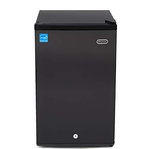 Whynter Black CUF-301BK 3.0 cu. ft. Energy Star Upright Freezer with Lock