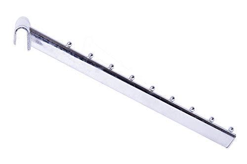 ShopDirect Schr/ägabh/änger geeignet f/ür Lamellenwand