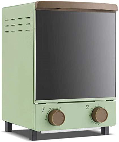 Toaster Ofen Elektrischer Ofen Kleiner Ofen Mini Vertikal elektrische multifunktionale Backöfen 12L Kapazität 800W mit...