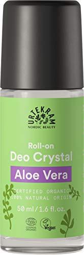 Urtekram - Desodorante Cristal de Aloe Vera Roll-On 50ml - Organico
