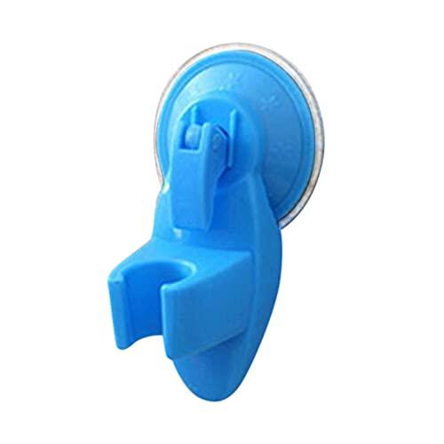 Soporte de ducha de baño 2 unids baño fuerte sujetador cabezal de ducha suplemento soporte movible succión showerseat asiento de chuck taza de succión soporte azul Baño, WC