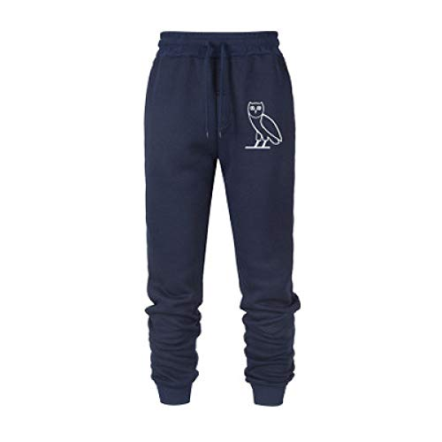 Pantalons pour Hommes Casual Solid Color Animal Printed Fitness Drawstring Pants for Running Gym Training Fitness