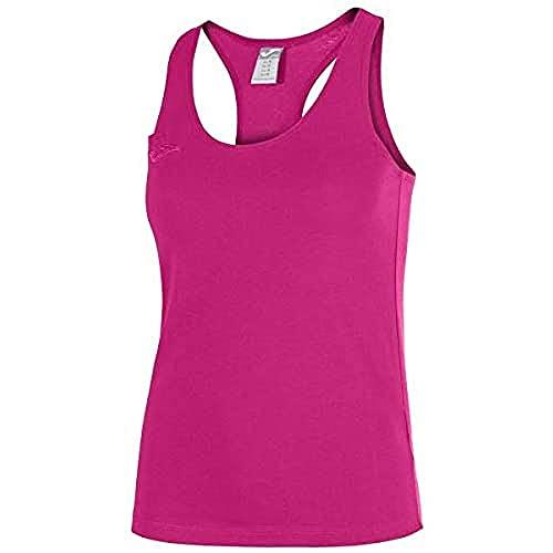 Joma Larisa Camiseta Tirantes, Mujer, Fucsia, XL