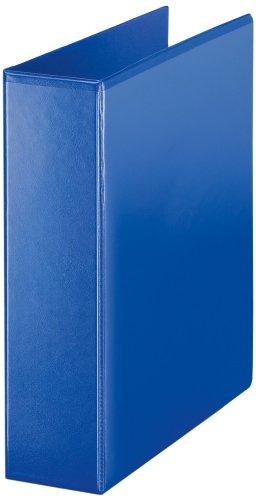Esselte - Archivador de 4 anillas en D (A4, 60mm), color azul