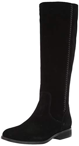 Frye and Co. Women's Jolie Braid Iz Knee High Boot, Black, 9 M US