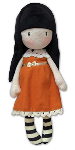 Gorjuss M-04-G Muñeca de Trapo en Display - I Gave You My Heart, 30 cm