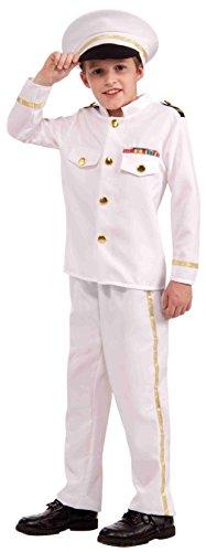 Forum Novelties Navy Admiral Child Costume, Medium