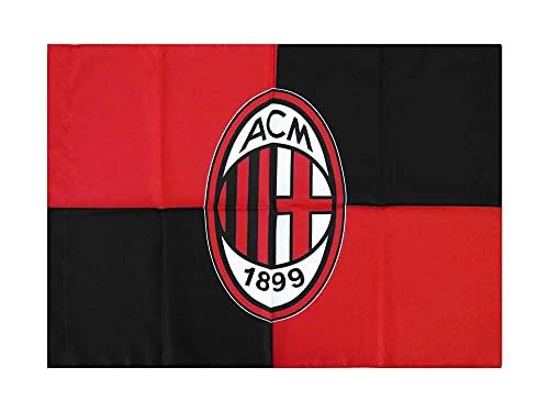 Bandiera Milan Ufficiale Grande cm. 100 x 140