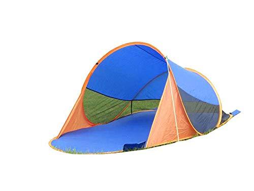Yx-outdoor Pop-Up Beach zonnebrandtent, draagbare tent 245 * 145 * 90Cm, waterdicht, opvouwbaar, licht voor camping, strand, bergbeklimming