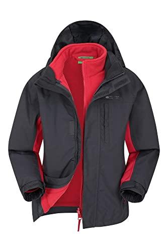 Mountain Warehouse Cannonball 3 in 1 Kids Waterproof Jacket