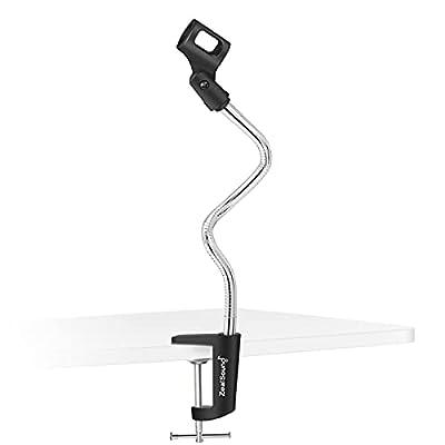 Amazon - 30% Off on  Microphone Arm Stand, Flexible Gooseneck Desktop Mic Stands Holder