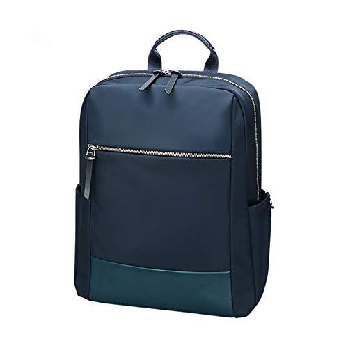 A-hyt Mochila cómoda y práctica para mujer, con capacidad escolar, mochila diaria para ordenador, fácil de caminar (color azul, tamaño: pulgadas)
