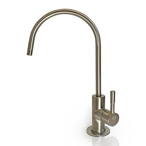 Aquaboon Water Filter Purifier Faucet European Style Brushed Nickel
