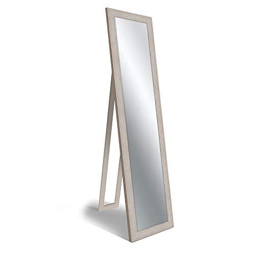 Lupia Specchio da Terra Floor Mirror 40X160 cm Boston Shabby Beige