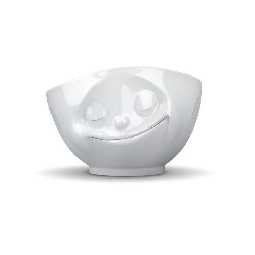 TV-Tassen 500ml Tasse glücklich weiß von 58Products Sprechende Tassen