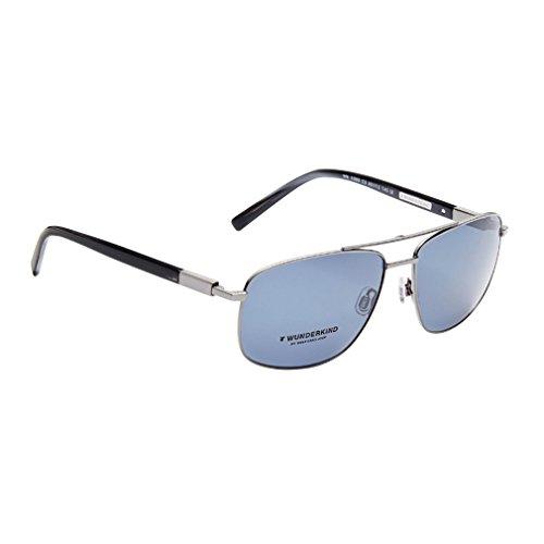 Wunderkind Sonnenbrille - WK 1003 C2 Rhodium Azur Blue