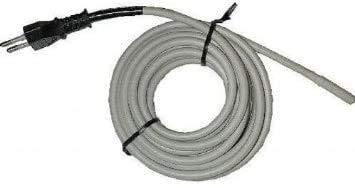 NATURAVIVA PADOVA Cable calefactor de doble silicona para acuarios, invernaderos, piscinas, pequeños animales (80 W 600 cm)
