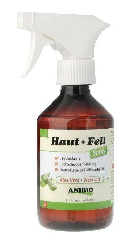 Anibio 95143 Haut Fell Mineralspray 300 ml Pflegemittel für Hunde und Katzen