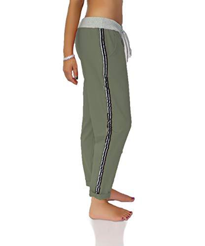 CHICK REBELLE Jogger Pants - Jogginghose Damen - Sweathose - Jogpants - Freizeithose Gr. 36-42