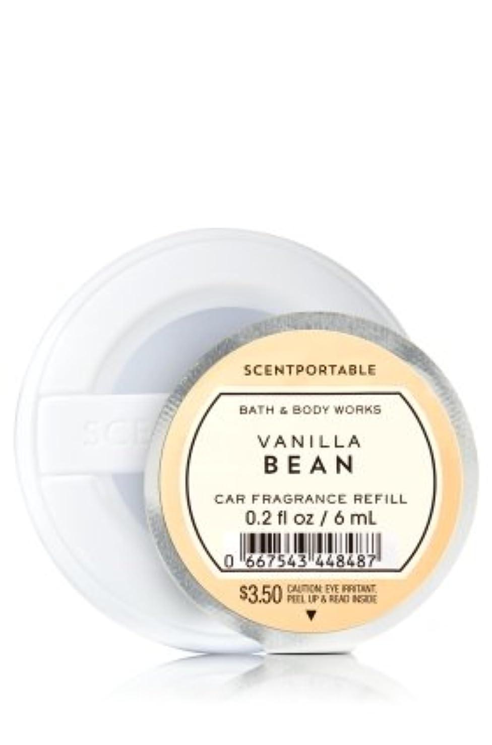 解決小康今晩【Bath&Body Works/バス&ボディワークス】 クリップ式芳香剤 セントポータブル詰替えリフィル バニラビーン Scentportable Fragrance Refill Vanilla Bean [並行輸入品]