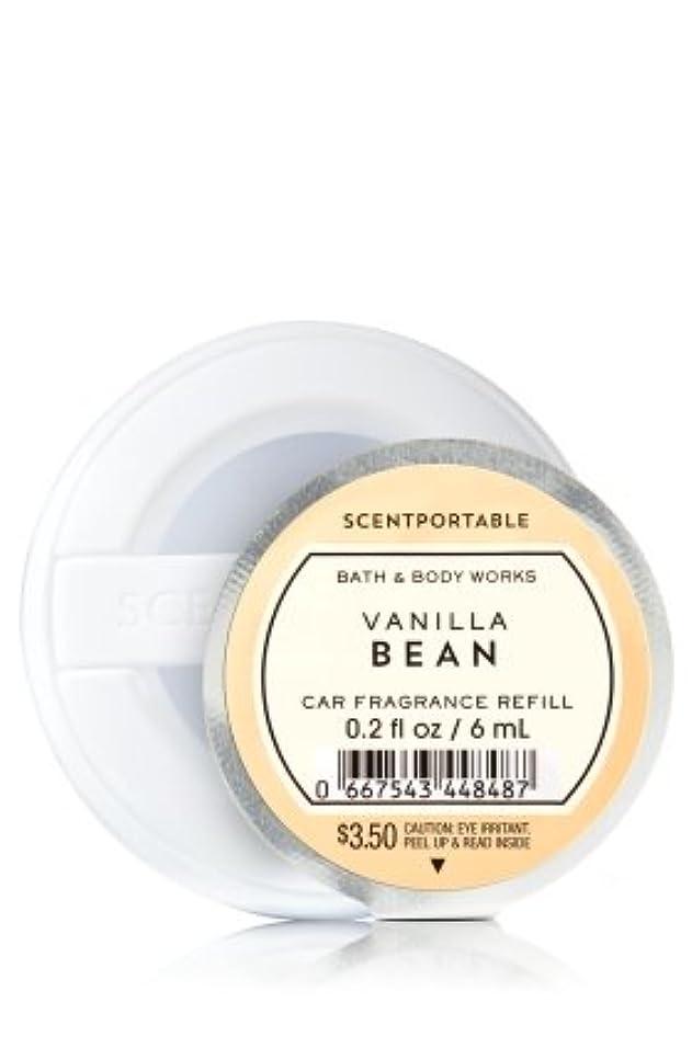 堤防ヤング思い出す【Bath&Body Works/バス&ボディワークス】 クリップ式芳香剤 セントポータブル詰替えリフィル バニラビーン Scentportable Fragrance Refill Vanilla Bean [並行輸入品]