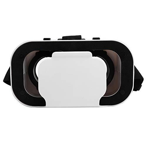 Vbestlife1 Einstellbare Diatance-VR-Brille, tragbare VR-Brille mit doppelter Brennweite, einfach einzurichtendes VR-Headset, geeignet für 4,7-6,53-Zoll-Mobiltelefone, dreidimensionales Kameratheater