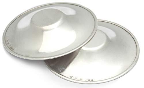 bragagnolo RAGADI Silber Parfüm reines Silber 999 RAGADI SENO Cup für ALLATTAMENTO Silver Flowers