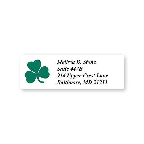 Shamrock Green Set of 215 Sheeted Address Labels