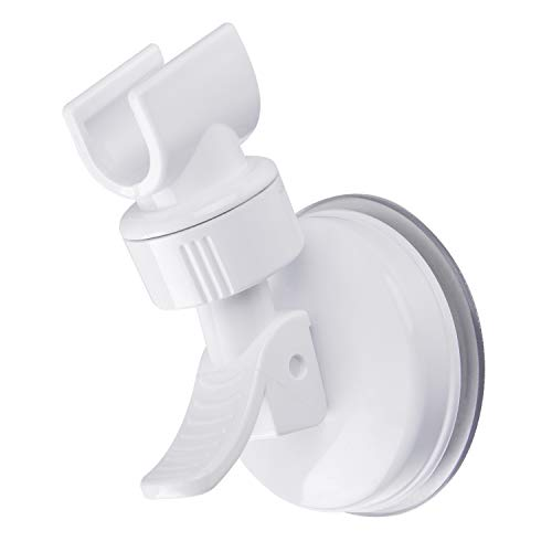 OUO Suction Cup Shower Head Holder Handheld Showerhead Bracket Adjustable Shower Holder, Removable Handheld Showerhead & Wall Mounted Suction Bracket
