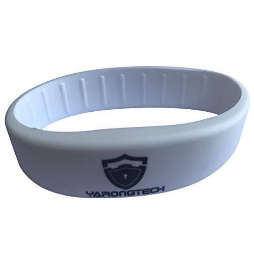 MIFARE Classic® 1 K witte siliconen armbanden (pak van 5)