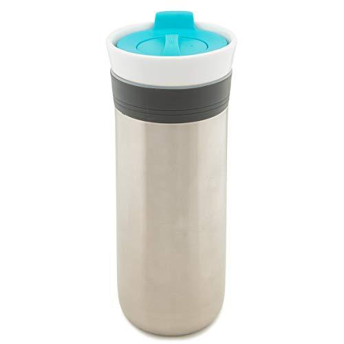 Cool Gear KAFE Triple Insulated Travel Mug Stainless Steel Ceramic Tumbler Triple Insulated Food Grade Safe BPA Free