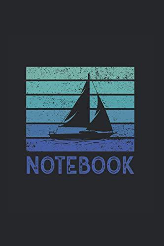Notebook: Cuaderno de notas de navegación de barco de puntos cuaderno de...