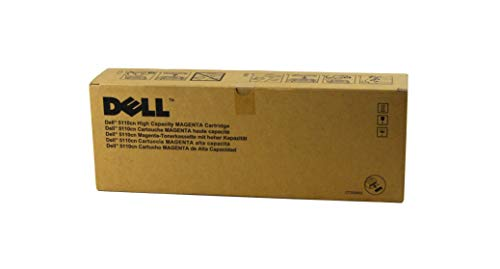 Dell KD557 High Capacity Toner Cartridge für 5110CN Laser Printer, 12000 Seiten, magenta