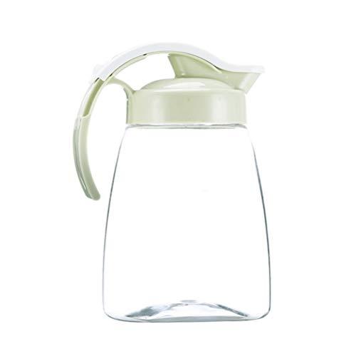 Cabilock Brcca di Plastica Trasparente Brcca di Acquaedda Calda Caraffa per Bevande per SuccD'acqua Latte caffè TèeddTaglia S