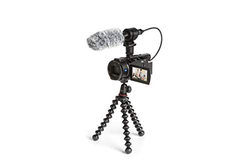 Sony FDR-AX53 Creator Kit - 4K Ultra Handycam Creator Kit mit Mikrofon ECM-CG60 and Joby GorillaPod