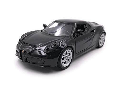 Onlineworld2013 modelauto 4c zwart auto schaal 1:34-39 (gelicentieerd)