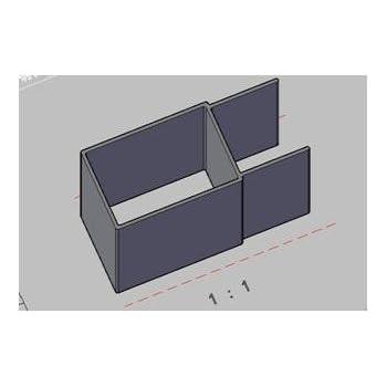 Perfil de Compensación EXTRA para Mampara de Ducha MODULAR.: Amazon.es: Bricolaje y herramientas